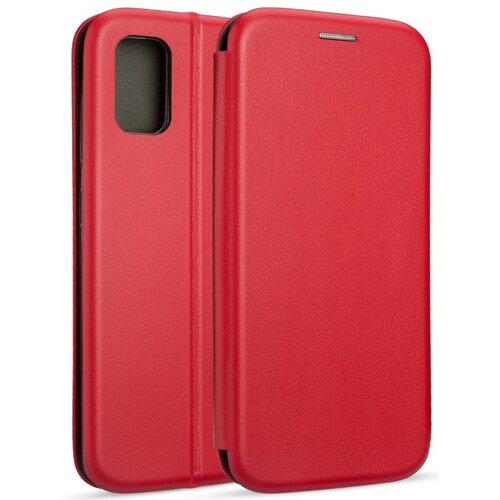 Etui BOOK MAGNETIC do Samsung Galaxy A41 Czerwony