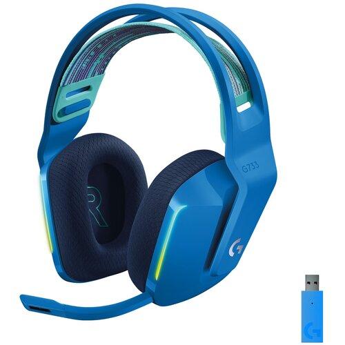 Słuchawki LOGITECH G733 Lightspeed Niebieski