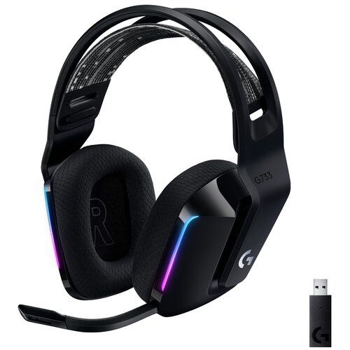 Słuchawki LOGITECH G733 Lightspeed Czarny