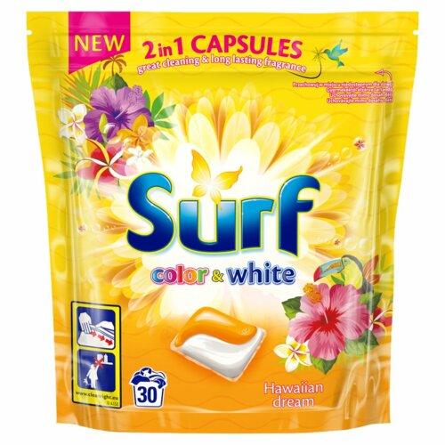 Kapsułki do prania SURF 2 in 1 Hawajski sen 30 szt.