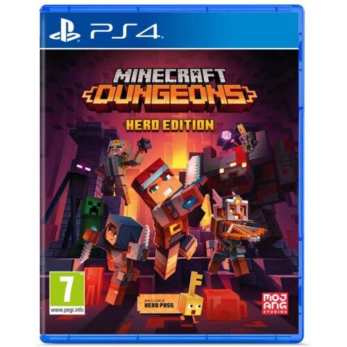 Minecraft Dungeons - Hero Edition Gra PS4 (Kompatybilna z PS5)