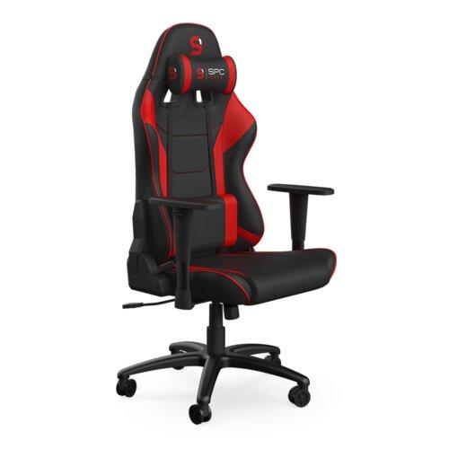 Fotel SPC GEAR SR300F V2 Deep Red Czarno-czerwony