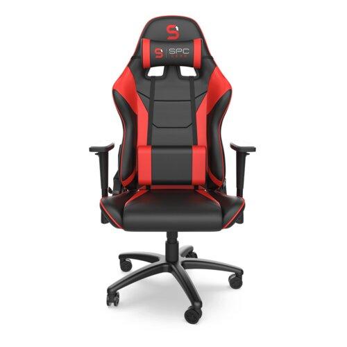 Fotel SPC GEAR SR300 V2 Gaming Red Czarno-czerwony (Szwy w kolorze czerwonym)