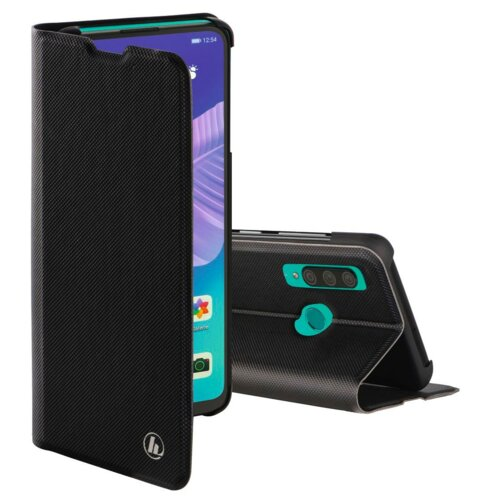 Etui HAMA Slim Pro Booklet do Huawei P40 Lite E Czarny