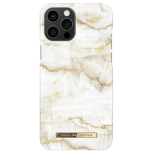 Etui IDEAL OF SWEDEN Fashion Case do Apple iPhone 12 Pro Max Golden Pearl Marble