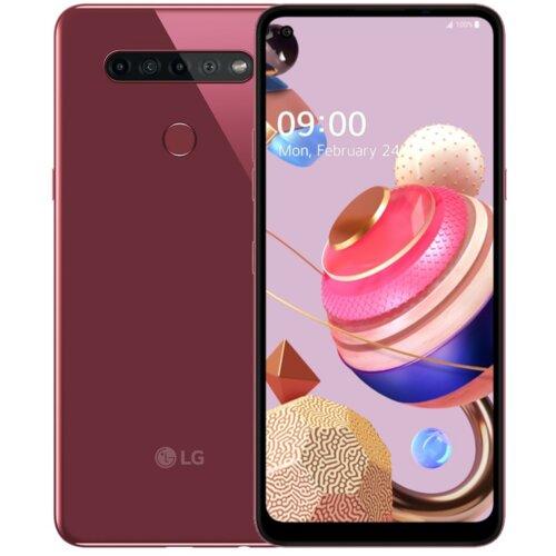 """Smartfon LG K51S 3/64GB 6.55"""" Różowy LMK510EMW.APOCPK"""