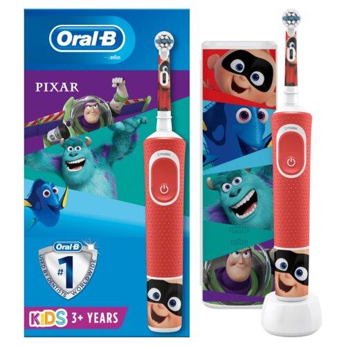 Szczoteczka rotacyjna ORAL-B D100 Kids Pixar + Etui Podróżne