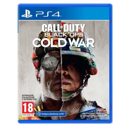 Call of Duty: Black Ops Cold War Gra PS4 (Kompatybilna z PS5)