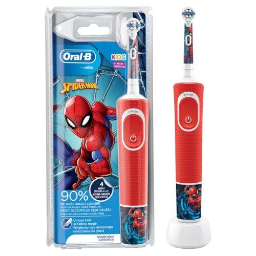 Szczoteczka rotacyjna ORAL-B D100 Kids Spiderman