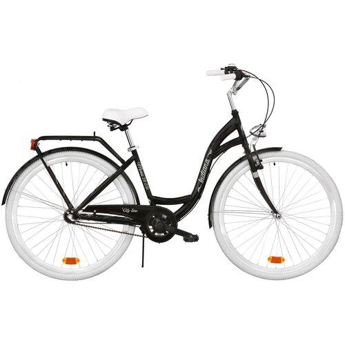 Rower miejski INDIANA Moena OS3B 28 cali damski Czarny