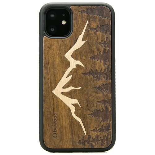 Etui BEWOOD do Apple iPhone 11 Góry Imbuia