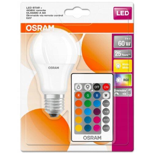 Żarówka LED OSRAM LEDSCLA60REM 9W E27