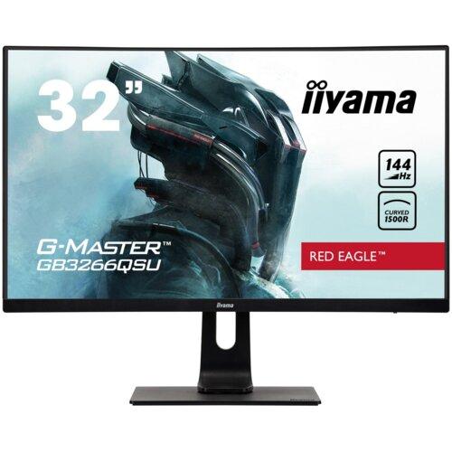 "Monitor IIYAMA G-Master GB3266QSU 32"" 2560x1440px 144Hz 1 ms Curved"