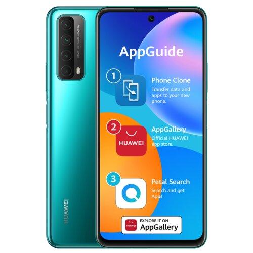 """Smartfon HUAWEI P Smart 2021 4/128GB 6.67"""" Zielony 51096ABX"""