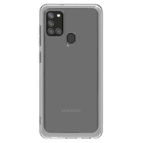 Etui SAMSUNG Clear Cover do Samsung Galaxy A21s Przezroczysty