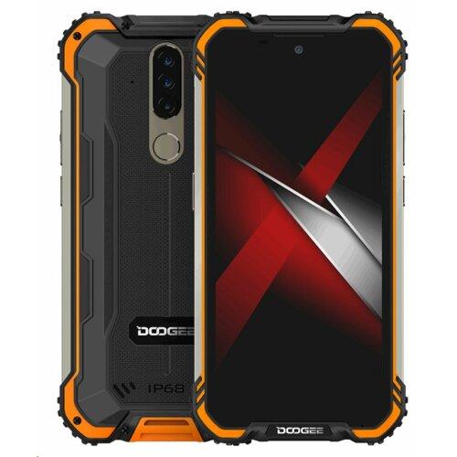 """Smartfon DOOGEE S58 Pro 6/64GB 5.71"""" Pomarańczowy"""