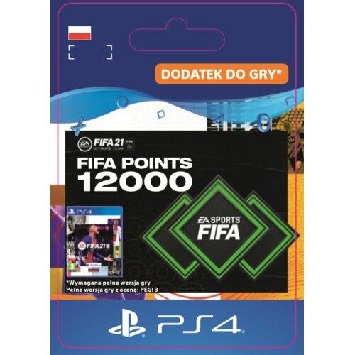 Kod aktywacyjny FIFA 21 Ultimate Team - 12000 punktów
