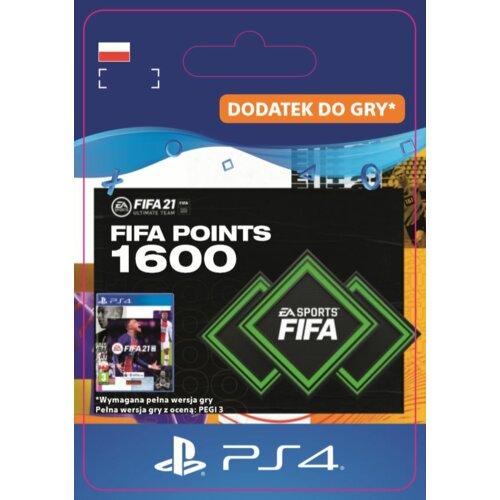 Kod aktywacyjny FIFA 21 Ultimate Team - 1600 punktów