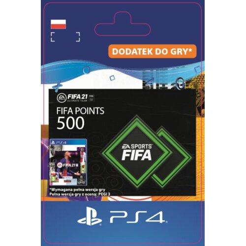 Kod aktywacyjny FIFA 21 Ultimate Team - 500 punktów