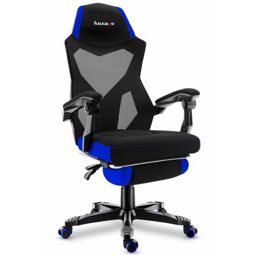 Fotel HUZARO Combat 3.0 Czarno-niebieski