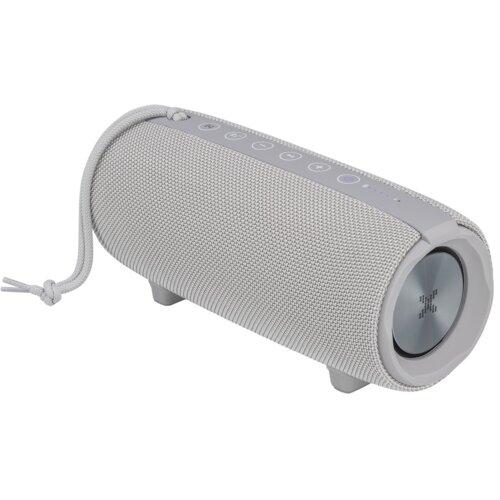 Głośnik mobilny XMUSIC BTS800G Szary Bluetooth AUX powerbank