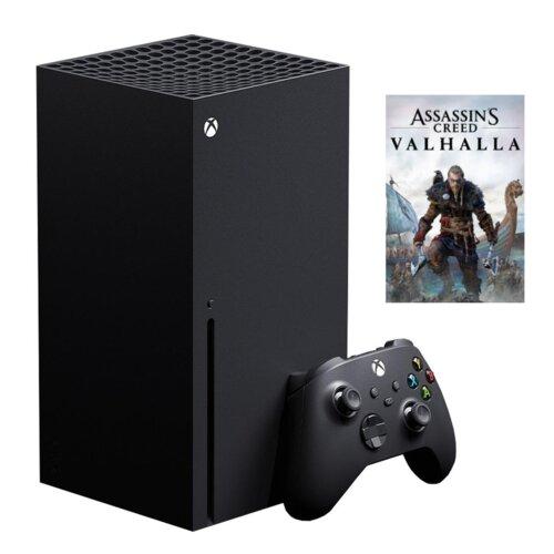 Konsola MICROSOFT XBOX Series X + Gra Assassin's Creed Valhalla