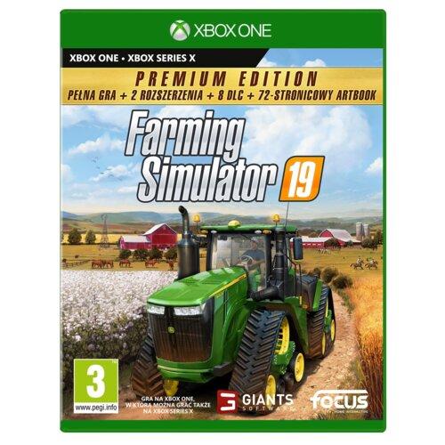 Farming Simulator 19 - Edycja Premium Gra XBOX ONE (Kompatybilna z Xbox Series X)