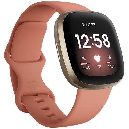 Smartwatch FITBIT Versa 3 Różowo-złoty