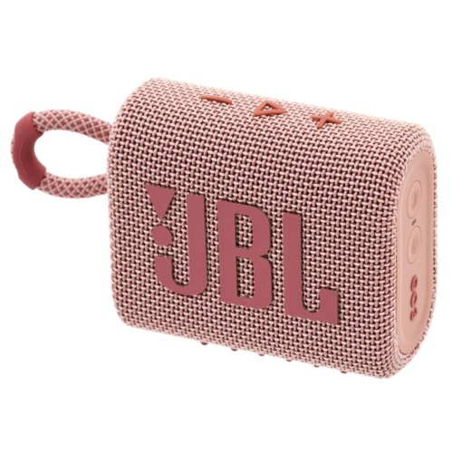 Głośnik mobilny JBL Go3 Różowy