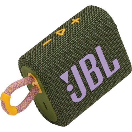 Głośnik mobilny JBL Go3 Zielony