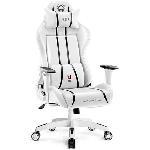 Fotel DIABLO X-ONE 2.0 Kids Size Biało-czarny