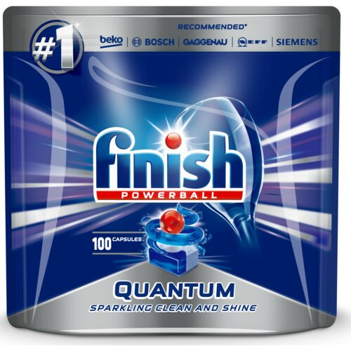 Kapsułki do zmywarek FINISH Powerball Quantum 100 szt.