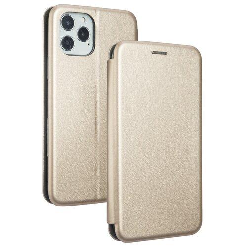 Etui BOOK MAGNETIC do Apple iPhone 12/12 Pro Złoty