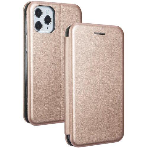 Etui BOOK MAGNETIC do Apple iPhone 12/12 Pro Różowo-złoty