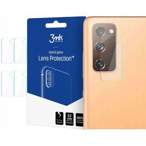 Szkło hybrydowe 3MK Lens Protection do Samsung Galaxy S20 FE
