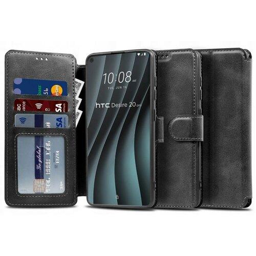 Etui TECH-PROTECT Wallet do HTC Desire 20 Pro Czarny
