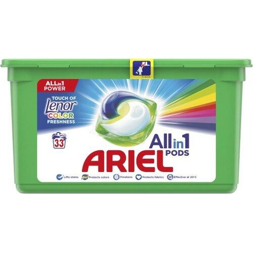 Kapsułki do prania ARIEL Allin1 Pods Touch of Lenor Fresh Color 33 szt.