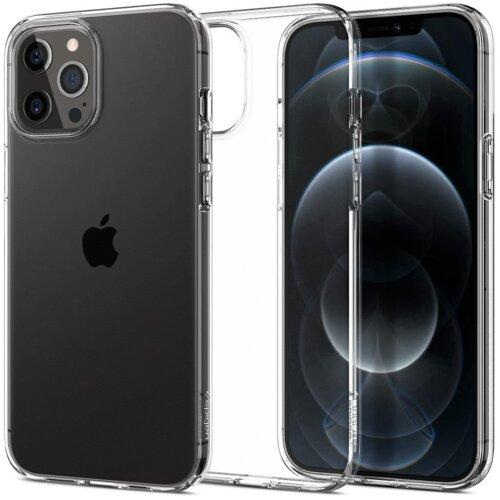 Etui SPIGEN Liquid Crystal do Apple iPhone 12/12 Pro Przezroczysty