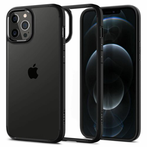 Etui SPIGEN Ultra Hybrid do Apple iPhone 12/12 Pro Czarny
