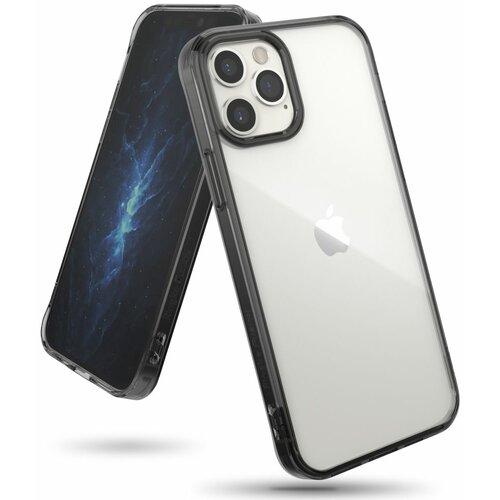 Etui RINGKE Fusion do Apple iPhone 12/12 Pro Czarny