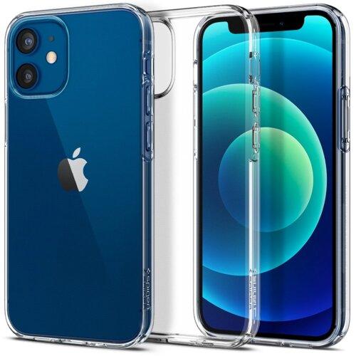Etui SPIGEN Liquid Crystal do Apple iPhone 12 mini Przezroczysty