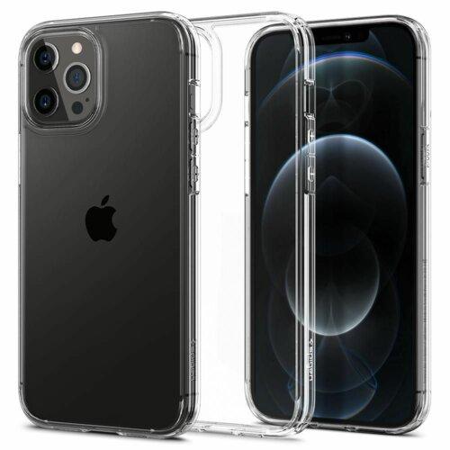 Etui SPIGEN Ultra Hybrid do Apple iPhone 12 Pro Max Przezroczysty