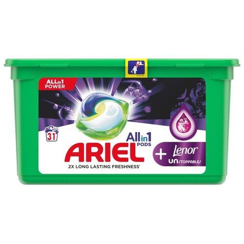 Kapsułki do prania ARIEL Allin1 Pods + Unstoppables 31 szt.