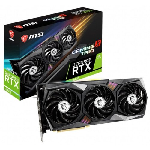 Karta graficzna MSI GeForce RTX 3070 Gaming X Trio 8GB GDDR6