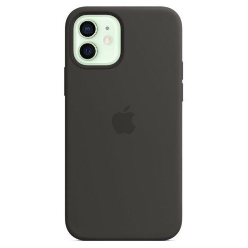 Etui APPLE Silicone Case do iPhone 12/12 Pro Czarny