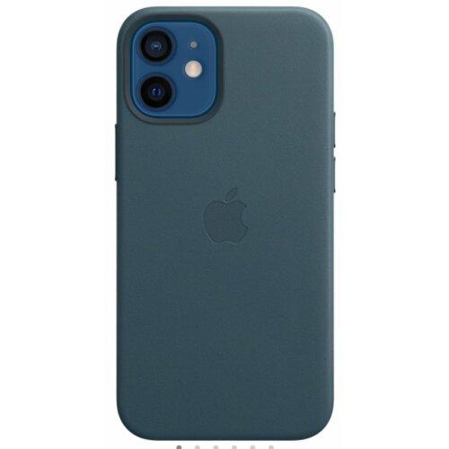 Etui APPLE Leather Case MagSafe do iPhone 12 mini Bałtycki błękit