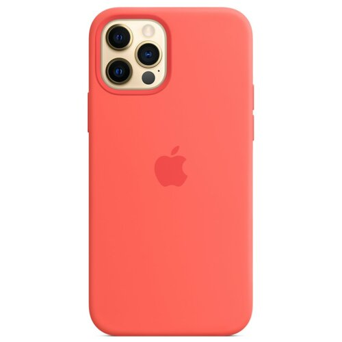 Etui APPLE Silicone Case do iPhone 12 Pro Max Różowy cytrus