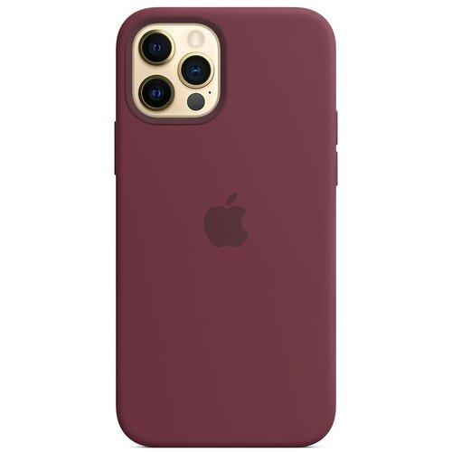 Etui APPLE Silicone Case do iPhone 12 Pro Max Dojrzała śliwka