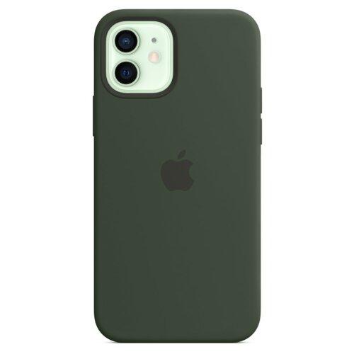 Etui APPLE Silicone Case do iPhone 12 mini Cypryjska zieleń