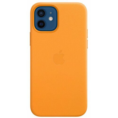 Etui APPLE Leather Case MagSafe do iPhone 12/12 Pro Kalifornijski mak